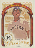2016 Allen & Ginter - Jim Rice The Numbers Game #NG-74