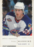 2002-03 ARTISTIC IMPRESSIONS - PAUL MANNING #135 ROOKIE IMAGES