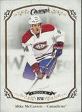 2015-16 CHAMP'S - MIKE MCCARRON #165 ROOKIE