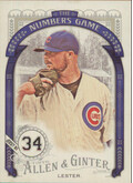 2016 Allen & Ginter - Jon Lester The Numbers Game #NG-27