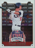 2015 USA Baseball Stars and Stripes - Tyler Naquin Longevity #98