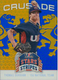2015 USA Baseball Stars and Stripes - Thomas Burbank Crusade Blue #91