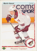 2010-11 UPPER DECK - MARTIN HANZAL #52 20TH ANNIVERSARY