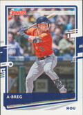 "2020 Donruss - Alex Bregman Variation ""A-Breg"" #112"