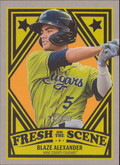 2019 Topps Heritage Minor League - Blaze Alexander Fresh on the Scene #FOS-17