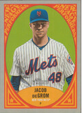 2019 Topps Heritage - Jacob DeGrom New Age Performers #NAP-19