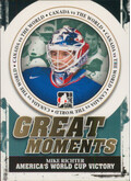 2011-12 CANADA VS. THE WORLD - MIKE RICHTER #GM-10 GREAT MOMENTS