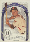 2016 Allen & Ginter - A.J. Pollock The Numbers Game #NG-58
