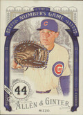 2016 Allen & Ginter - Anthony Rizzo The Numbers Game #NG-38