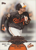 2013 Topps - Manny Machado Making Their Mark #MM-24