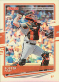 2020 Donruss - Buster Posey Milestone Stat Line #93 194/250