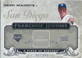 2008 A Piece of History - Greg Maddux Franchise History #FH-43 317/699
