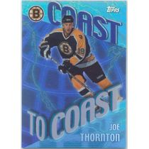 2002-03 TOPPS - JOE THORNTON #CC7 COAST TO COAST