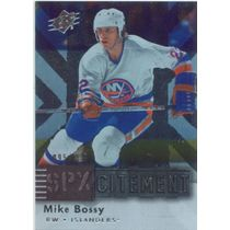 2009-10 SPX - MIKE BOSSY #X22 SPXCITEMENT 95/999