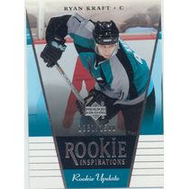 2002-03 ROOKIE UPDATE - RYAN KRAFT #140 ROOKIE INSPIRATIONS 1281/1500