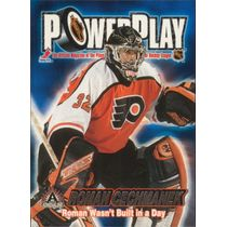 2001-02 ADRENALINE - ROMAN CECHMANEK #26 POWER PLAY