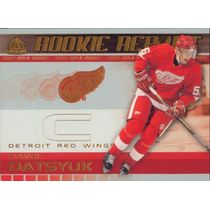 2001-02 ADRENALINE - PAVEL DATSYUK #8 ROOKIE REPORT