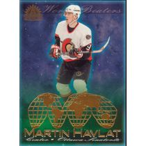 2001-02 ADRENALINE - MARTIN HAVLAT #13 WORLD BEATERS