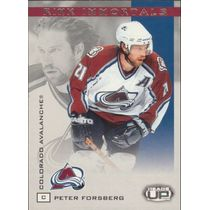 2003-04 HEADS UP - PETER FORSBERG #2 RINK IMMORTALS