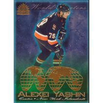 2001-02 ADRENALINE - ALEXEI YASHIN #11 WORLD BEATERS