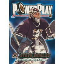 2001-02 ADRENALINE - STEVE SHIELDS #2 POWER PLAY