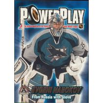 2001-02 ADRENALINE - EVGENI NABOKOV #32 POWER PLAY