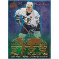 2001-02 ADRENALINE - PAUL KARIYA #1 WORLD BEATERS