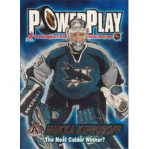 2001-02 ADRENALINE - MIKKA KIPRUSOFF #31 POWER PLAY