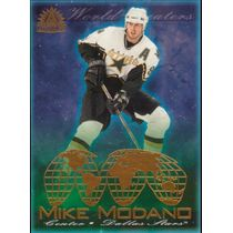 2001-02 ADRENALINE - MIKE MODANO #4 WORLD BEATERS
