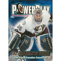 2001-02 ADRENALINE - JEAN-SEBASTIEN GIGUERE #1 POWER PLAY