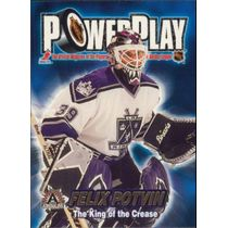 2001-02 ADRENALINE - FELIX POTVIN #18 POWER PLAY