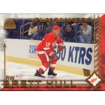 2001-02 ADRENALINE - BRETT HULL #4 PLAYMAKERS