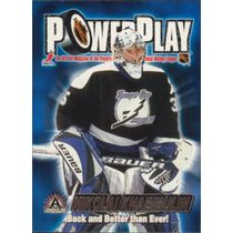 2001-02 ADRENALINE - NIKOLAI KHABIBULIN #33 POWER PLAY