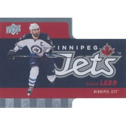 2015-16 TIM HORTONS - ANDREW LADD #TH-2 DIE CUTS