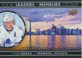 2016-17 TIM HORTONS - TYLER BOZAK #LL-5 LOCAL LEADERS