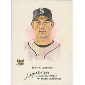 2008 Allen & Ginter - Jeff Clement SP #329