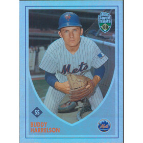 2002 Super Teams - Buddy Harrelson Retrofractors #89 746/1969