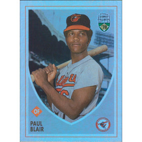2002 Super Teams - Paul Blair Retrofractors #108 812/1970
