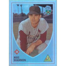 2002 Super Teams - Mike Shannon Retrofractors #76 941/1967