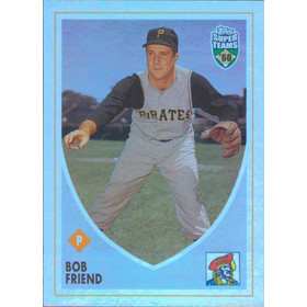 2002 Super Teams - Bob Friend Retrofractors #52 1602/1960
