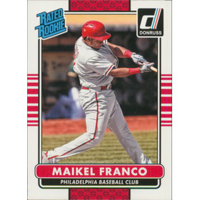 2015 Donruss - Maikel Franco Rated Rookie RC #41