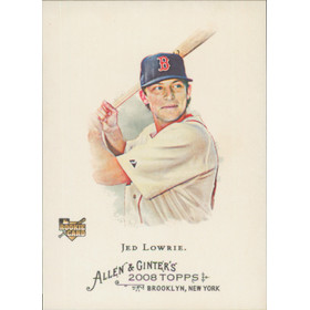2008 Allen & Ginter - Jed Lowrie SP #308