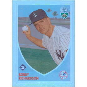 2002 Super Teams - Bobby Richardson Retrofractors #60 1260/1961