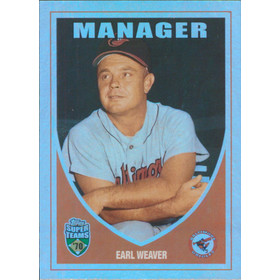 2002 Super Teams - Earl Weaver Retrofractors #102 1225/1970