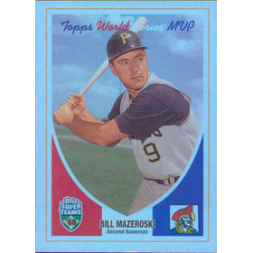 2002 Super Teams - Bill Mazeroski Retrofractors #56 258/1960