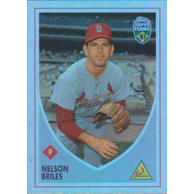 2002 Super Teams - Nelson Briles Retrofractors #83 792/1967