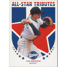 2001 Vintage - Alex Rodriguez All-Star Tributes #AS7