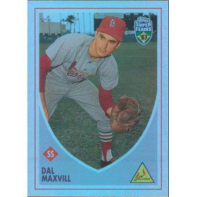 2002 Super Teams - Dal Maxvill Retrofractors #75 286/1967
