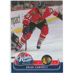 2008-09 MVP - BRIAN CAMPBELL #WC11 WINTER CLASSIC