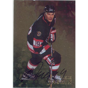 1998-99 BE A PLAYER - ALEXEI YASHIN #246 AUTO GOLD